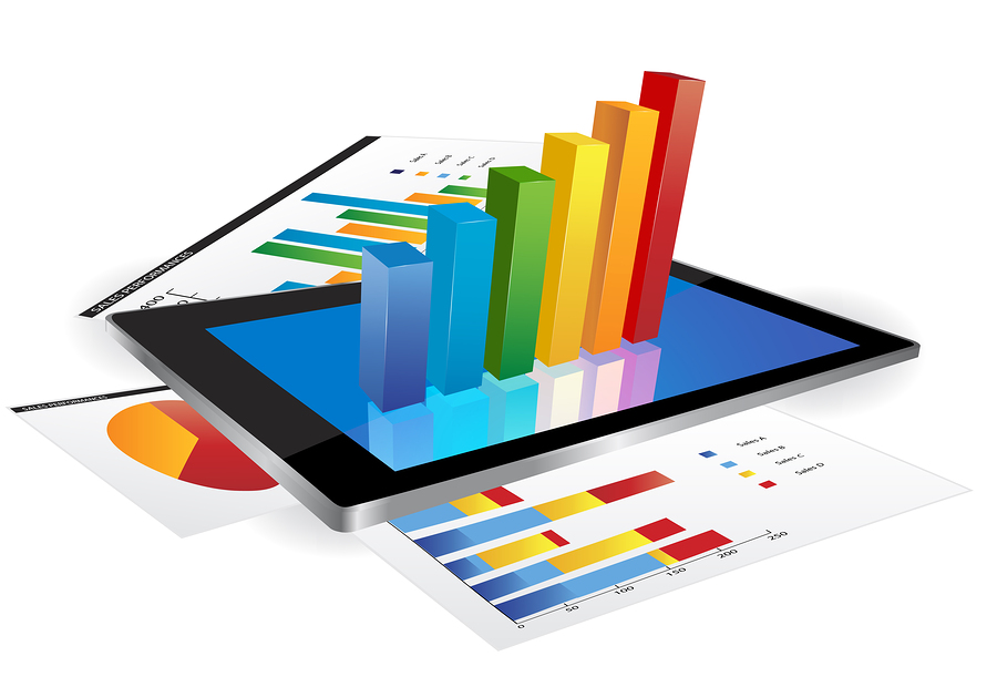 bigstock-Tablet-With-D-Graph-44189407